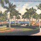 Bayfront Park, Miami, Florida-  Postcard- (# 43)