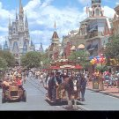 Walt Disney World  -Main Street, U.S.A.-  Postcard- (# 74)