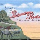 Souvenir of Picturesque Kentucky-  Postcard Booklet-(# 106)