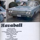 March 27, 1965- - '65 Dodge Polara  ad (# 2845)