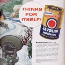 March 6, 1956  Texaco Havoline Motor Oil      ad (# 4478)