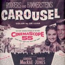 March 6, 1956  Carousel movie with Gordon MacRae , Shirley Jones    ad (# 4592)