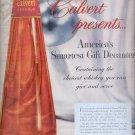 Dec. 13, 1955   Calvert reserve  Whiskey        ad (# 3095)