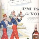 Dec. 13, 1955   P M  Blended Whiskey       ad (# 3205 )