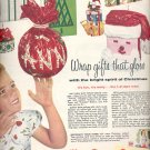 Dec. 13, 1955  Scotch Cellophand and gift wrap tapes and Sasheen Ribbon    ad (# 4326 )