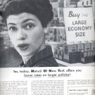 Oct. 28, 1957 -  Mutual of New York   ad (# 3428)