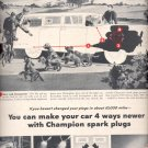 Oct. 28, 1957 -   Champion Spark Plugs  ad (# 3431)