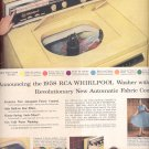 Oct. 28, 1957 -    RCA 1958 Whirlpool Washer   ad (# 3432)
