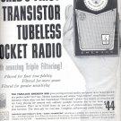Oct. 28, 1957 -    Emerson Pocket Radio   ad (# 3433)