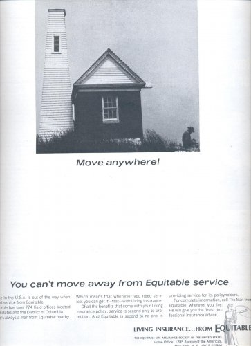 Jan. 24, 1964   Equitable Life Assurance Society of the US  ad  (# 3508 )
