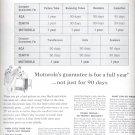 Jan. 24, 1964    Motorola    ad  (# 3510 )