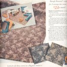 Sept. 12, 1955   Bigelow  Rugs Carpets   ad (# 3521 )