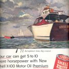 Sept. 12, 1955   Shell X- 100 Motor Oil    ad (# 3528 )
