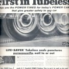 Sept. 12, 1955   B.F. Goodrich Tubeless Tires     ad (# 3533 )