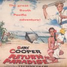 Aug. 3, 1953  Return to Paradise movie with Gary Cooper     ad (# 3546 )