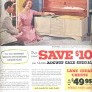 Aug. 3, 1953    Lane Cedar Chests       ad (# 3556 )