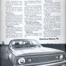 March 19, 1971       American Motors Hornet   ad  (# 3565)