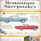 Aug. 20, 1957   Krafts sweepstakes       ad (# 3669 )