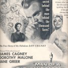 Aug. 20, 1957   Man of a Thousand Faces movie        ad (# 3670 )