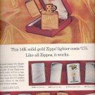 Dec. 3, 1965 - Zippo lighter        ad  (# 3687 )