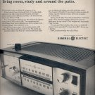 Dec. 3, 1965 -    General Electric radio   ad  (# 3702 )