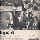 Dec. 3, 1965 -     General Elecctric Tape Recorder   ad  (# 3704 )