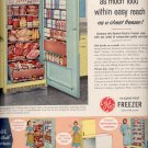 July 10, 1956    General Elecctric Freezer     ad (# 3720)