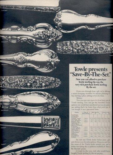 May 1969    Towle Silversmiths    ad (# 3802)
