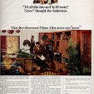 Oct. 1969  Ethan Allen furniture      ad (# 3815)