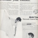 Nov. 1964   Mayatag Electronic control dryer      ad (# 3853)