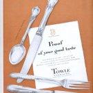 Nov. 1, 1949 Towle Sterling     ad (# 3894)