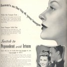 Jan. 20, 1941  Pepsodent Tooth Paste  ad (# 3944)
