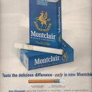 Feb.  11, 1964    Montclair Cigarettes   ad (# 3994)
