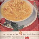 March 6, 1956 Campbells Beef Noodle Soup  ad (# 4644)