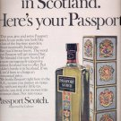 Dec. 13, 1968   Passport Scotch  ad (# 4819)