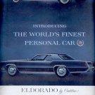 Oct. 22, 1966   Eldoorado by Cadillac  ad (# 3341)