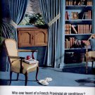 May 11, 1963  Westinghouse French Provincial  Air Conditioner      ad (# 3351)