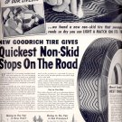 Aug. 7, 1939 Goodrich Safety Silvertowns      ad (# 3360)