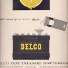 Sept. 17, 1957   Delco dry charge batteries        ad (# 3372)