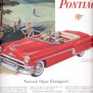 June 12, 1954   -   Pontiac Star Chief Convertible     ad (# 3390)