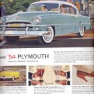 June 12, 1954   -   Plymouth     ad (# 3391)