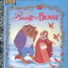 Disney's Beauty and the Beast - a little golden book- hb