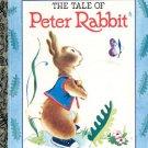 The Tale of Peter Rabbit - a little golden book- hb