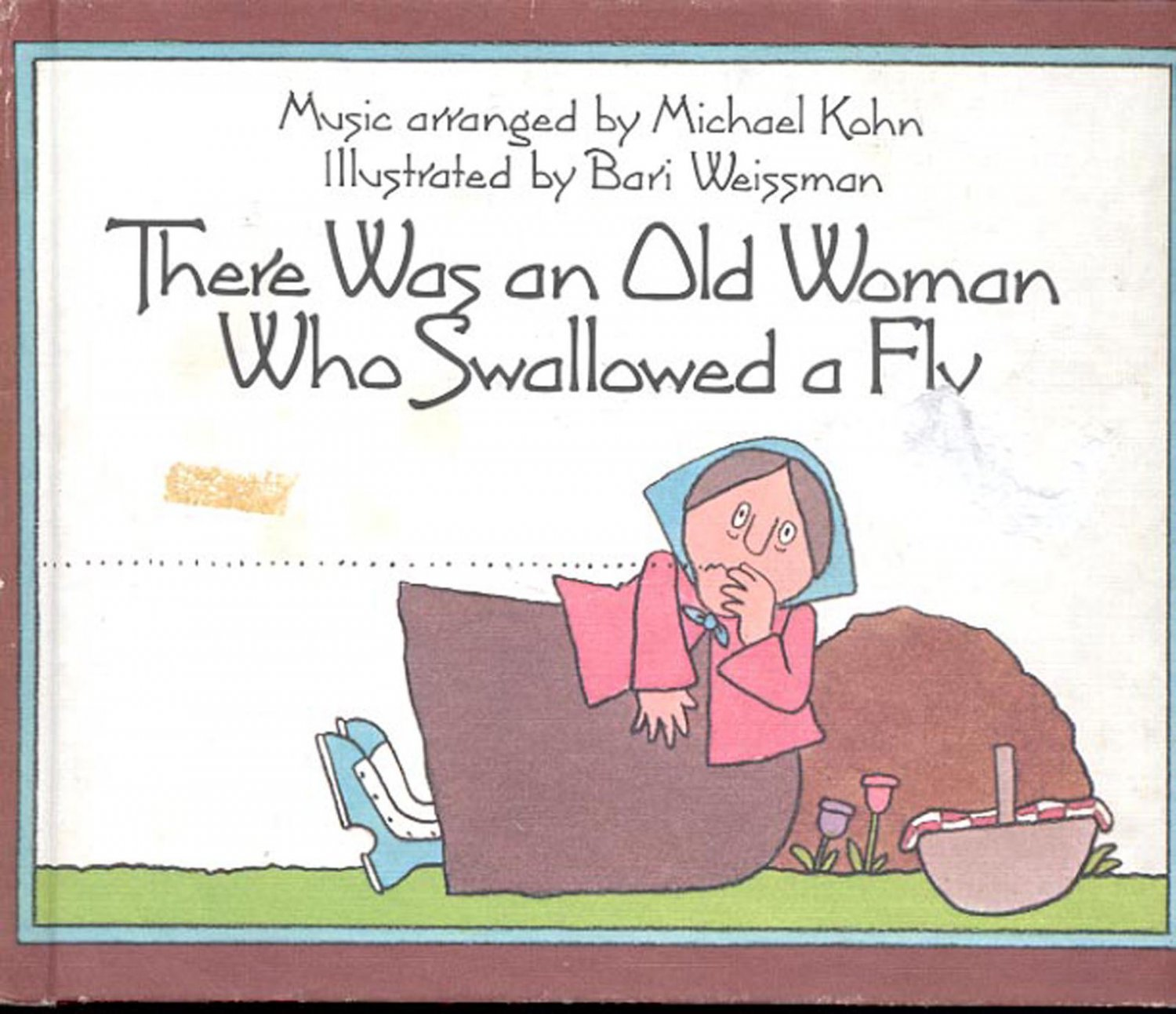 there was an old woman who swallowed a fly pdf