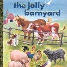 The Jolly Barnyard- a little Golden book classic- hb