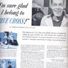 June 12, 1954   -  Blue Cross      ad (# 3392)