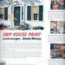 June 12, 1954    Sherwin-Williams House Paint    ad (# 3400)