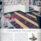 June 12, 1954    Armstrong's Asphalt Tile   ad (# 3404)