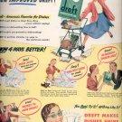 Feb. 1948   Dreft makes dishes shine    ad (# 2237)