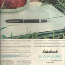 Oct. 28, 1957   Easterbrook Safari fountain pen   ad (# 3421)